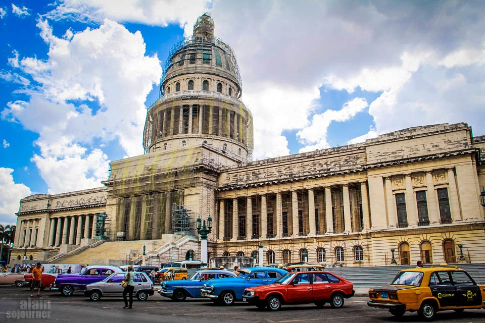 Things to do in Cuba: Sit in Parque Central in Havana.