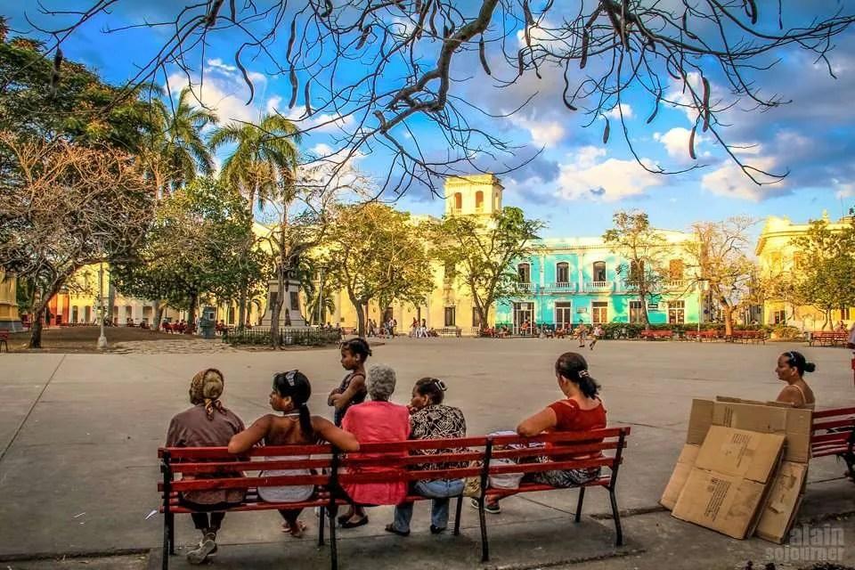 Parque Vidal in Santa Clara.