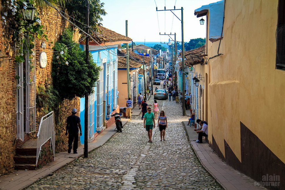 Time Travel in Trinidad Cuba