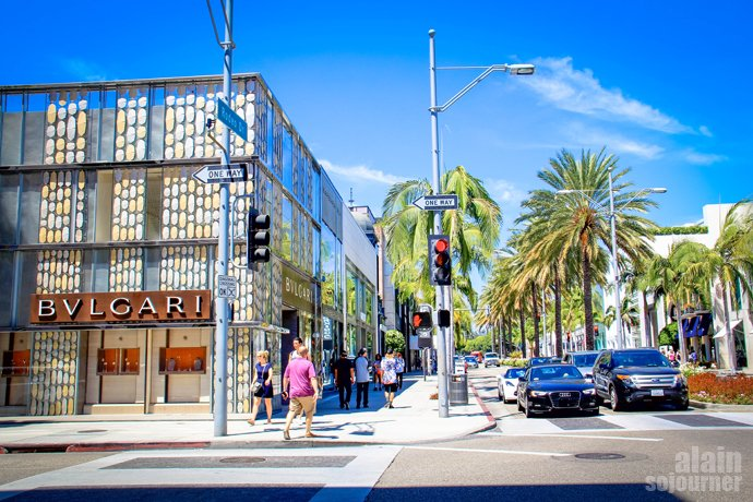 Rodeo Drive in Los Angeles