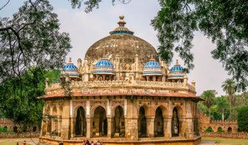 Isa Khan Tomb - An Asylum of Paradise (New Delhi, India)
