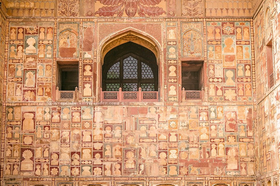 The Magnificent Tomb of Emperor Akbar at Sikandra in Agra (India).