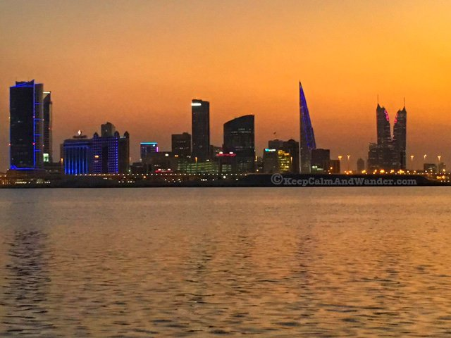 Find Nearest Gas Station >> Bahrain Skyline at Night