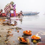 What Morning Looks Like at Ganges River in Varanasi