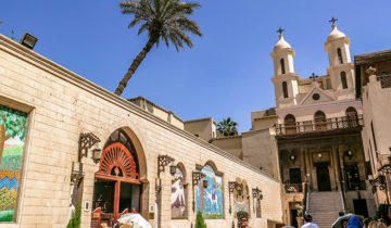 The Hanging Church in Cairo - Virgin Mary Appeared Here (Egypt).