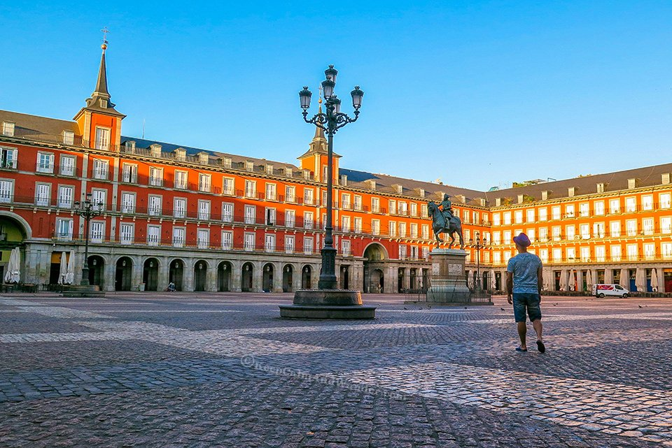 Madrid Plaza Mayor - The Square With Many Names (Spain).