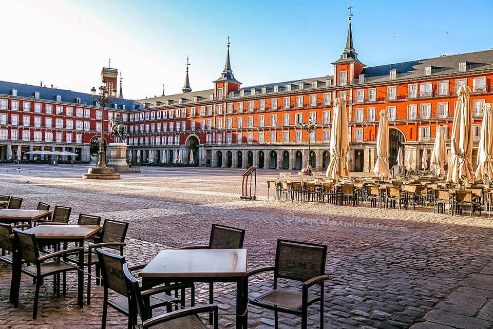 Madrid Plaza Mayor - The Heart of the City (Spain).