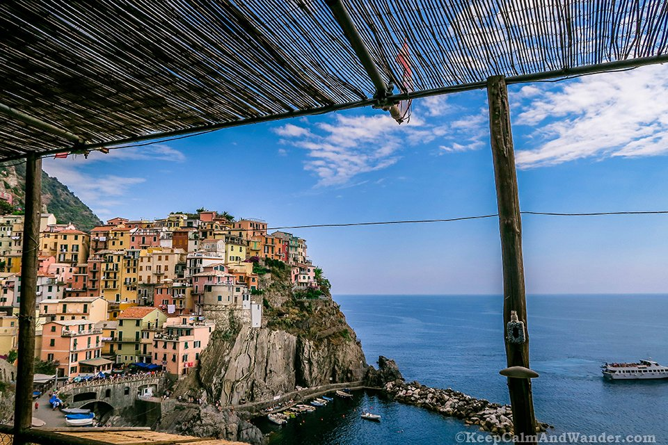 Photos from Manarola Village in Cinque Terre (Italy).