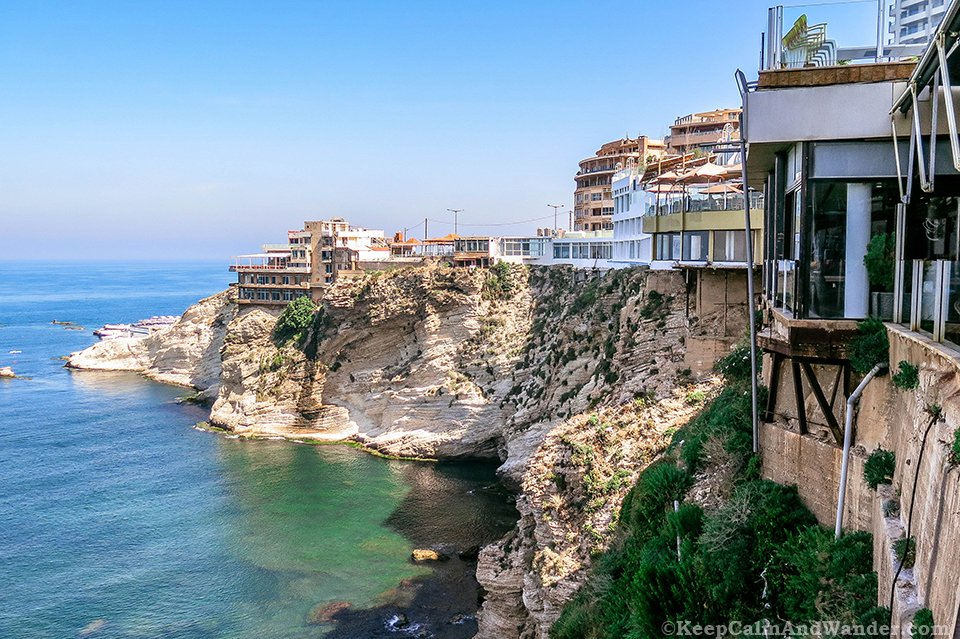 You've Never Been to Beirut if You Don't Have a Photo at Pigeon Rocks (Lebanon).