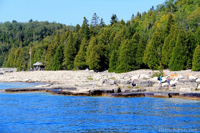 Flowerpot Island Bruce Peninsula