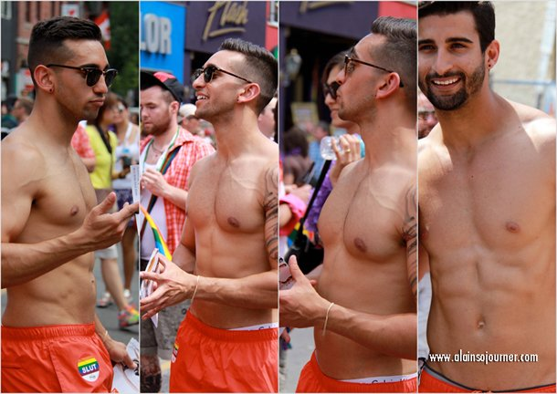 2012 The Boys of Toronto Pride Parade.