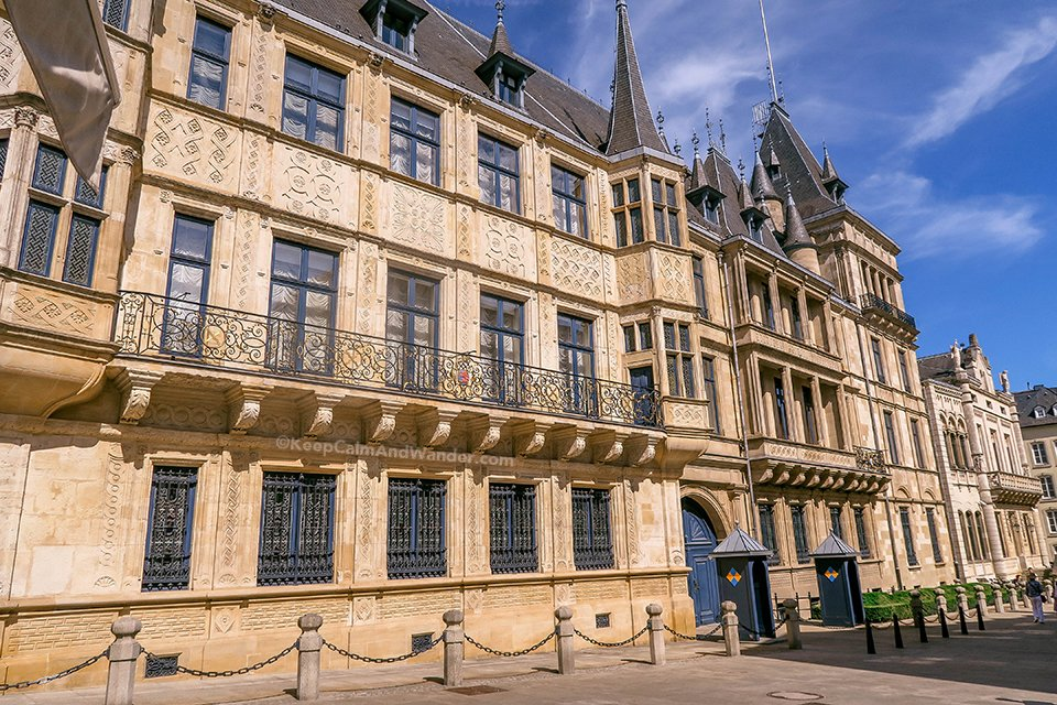 Things to do in Luxembourg for One Day (Grand Ducal Palace).