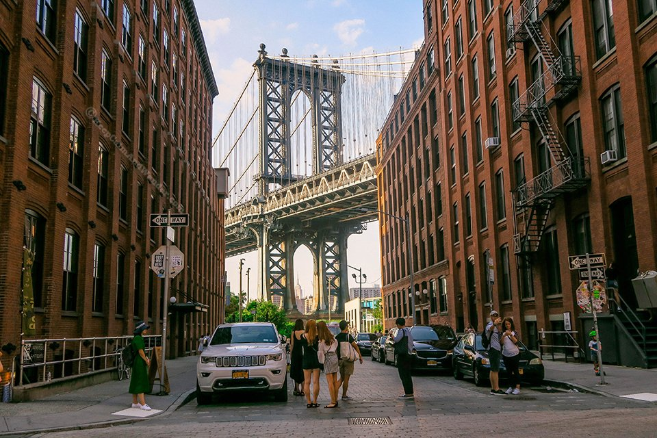 Dumbo, Brooklyn New York (Manhattan Bridge).