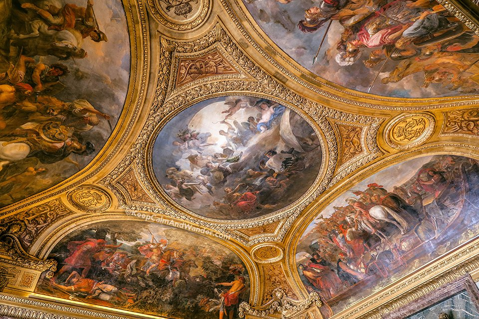 Mars Room / Take A Peek: The Stately Rooms of the Palace of Versailles (France).