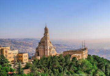 Harissa - Where The Virgin Mary is Watching Down Lebanon.