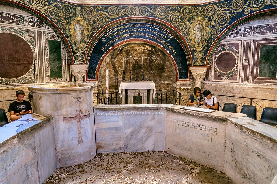 A Day Trip to the City of Ravenna Where Dante is Laid to Rest (Italy).
