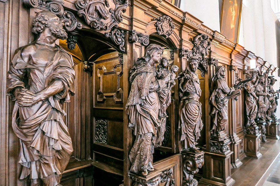 Onze-Lieve-Vrouwekerk / Church of Our Lady in Bruges (Belgium).
