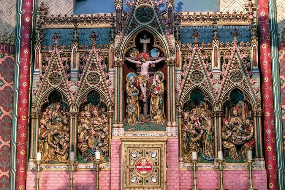 Onze-Lieve-Vrouwekerk in Burges / Church of Our Lady (Belgium).