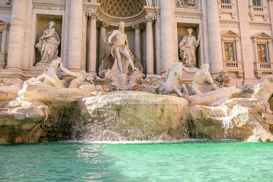 I Wished For World Peace at the Trevi Fountain in Rome (Italy).