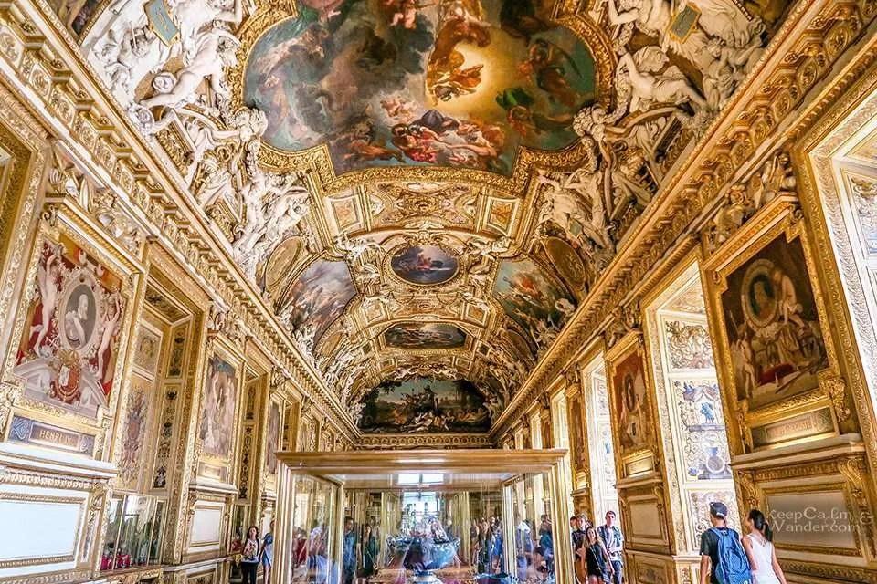 Galerie de Appolon / Apollo Gallery.