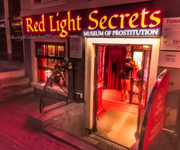 Welcome to the Museum of Prostitution in Amsterdam! Netherlands