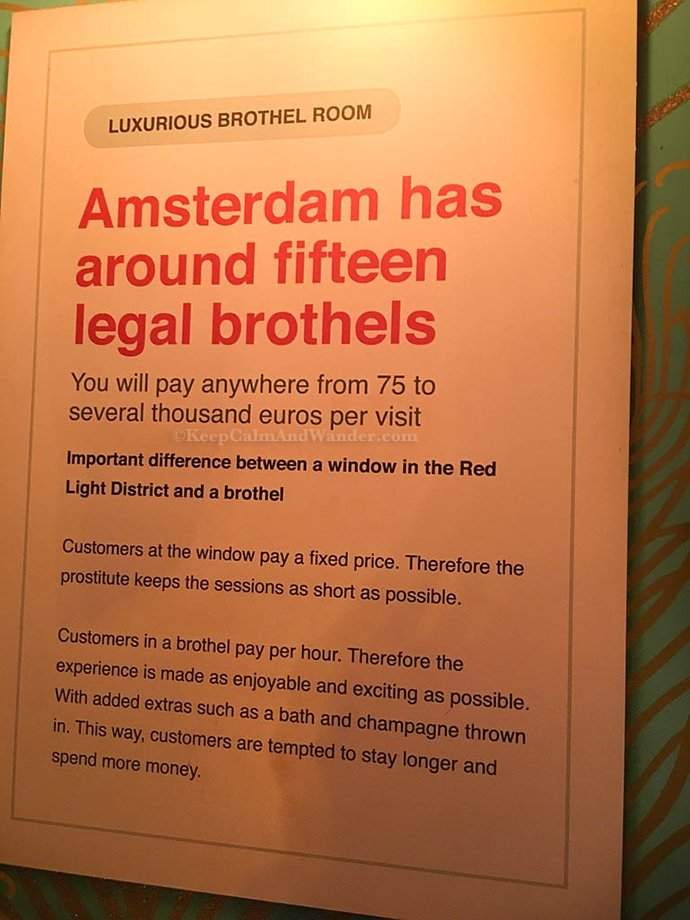 Amsterdam - Museum of Prostitution!