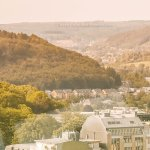 Worth A Try: Views of Luxembourg City from Sky City Liner