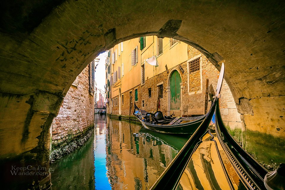 I Rode a Gondola in Venice and Boy, I Loved it! (Italy)