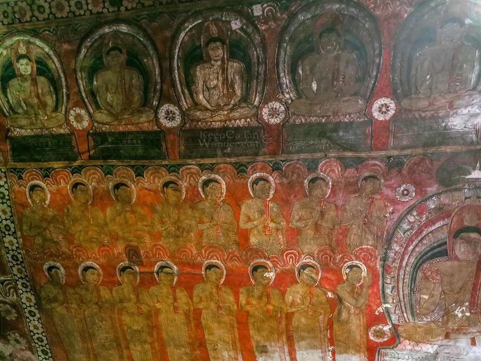 Buddhism is a major religion in Sri Lanka.