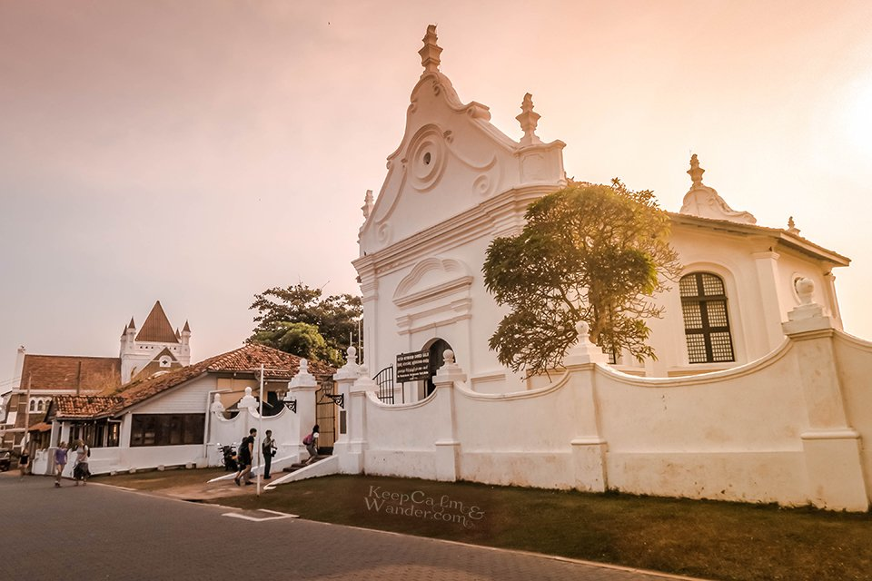 My Walking Tour Around Galle / Dutch Fort (Sri lanka).