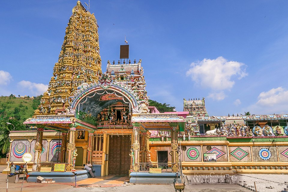 This Hindu Temple in Matale is Incredible and It Has a very Long Name - Arulmigu Sri ...