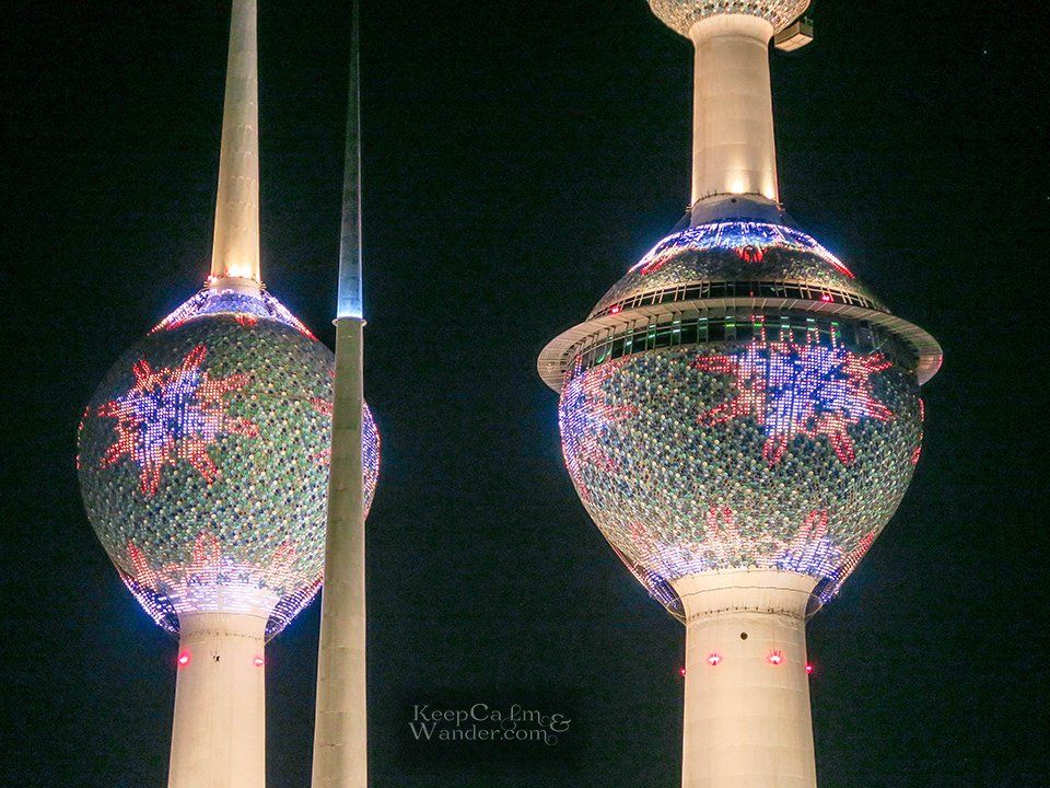 20 Photos From Kuwait: Its Skyline, Towers and Corniche.