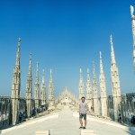 City Skyline: Views from the Top of Milan Cathedral