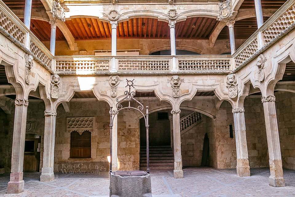 Old Public Library - One Day in Salamanca (Spain).