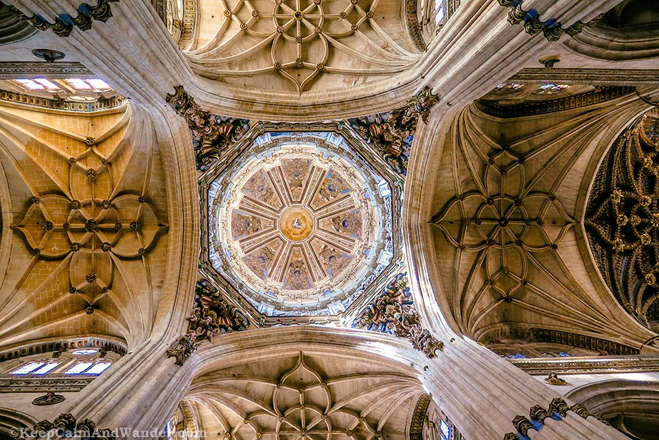 Inside the New Cathedral de Salamanca - One Day in Salamanca (Spain).
