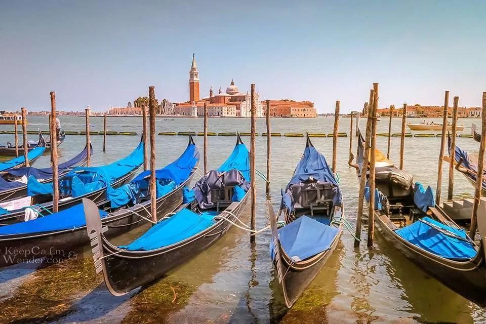 Venice: Admiring San Giorgio Maggiore Church From Afar (Italy).