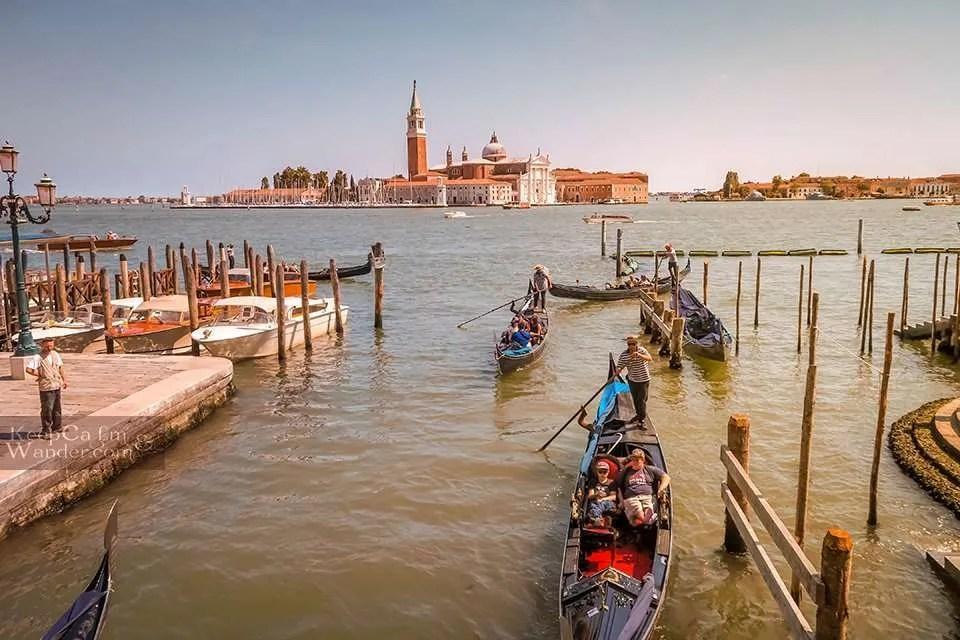 San Giorgio Island From Afar (Venice, Italy).