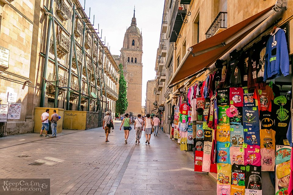 One Day in Salamanca (Spain).