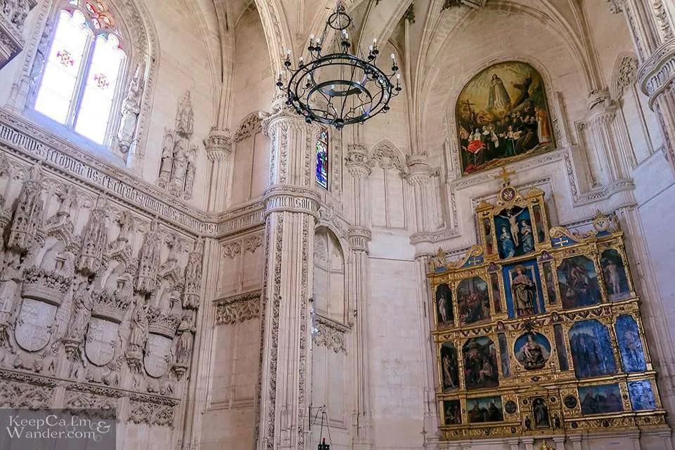 Inside Monasterio San Juan de los Reyes - A Heavenly Refuge in Toledo (Monastery of St. John of the Monarchs, Spain).