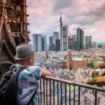 City Skyline: The Views from Kaiserdom in Frankfurt
