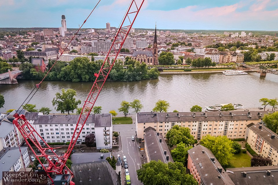 The Views from Kaiserdom (Cathedral Tower) in Frankfurt (Germany). Travel Blog