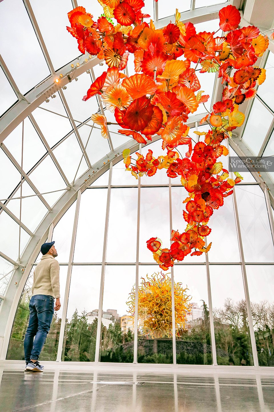 The Glasshouse- Chihuly Garden and Glass Seattle.