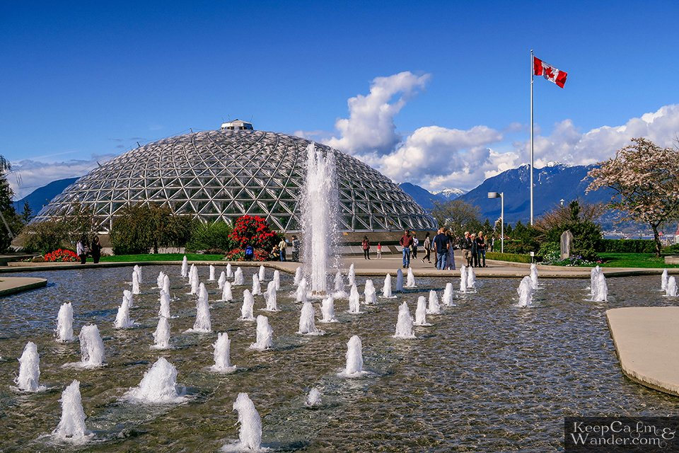 Fountain Bloedel Conservatory at Park Queen Elizabeth in Vancouver Travel Blog