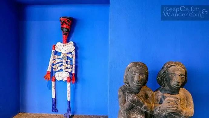 sculptures la casa azul Frida