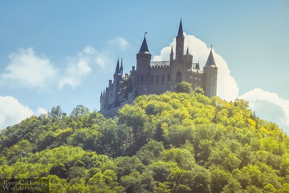 Hohenzollern Castle in Baden-Wurttemberg, Germany. Travel Blog