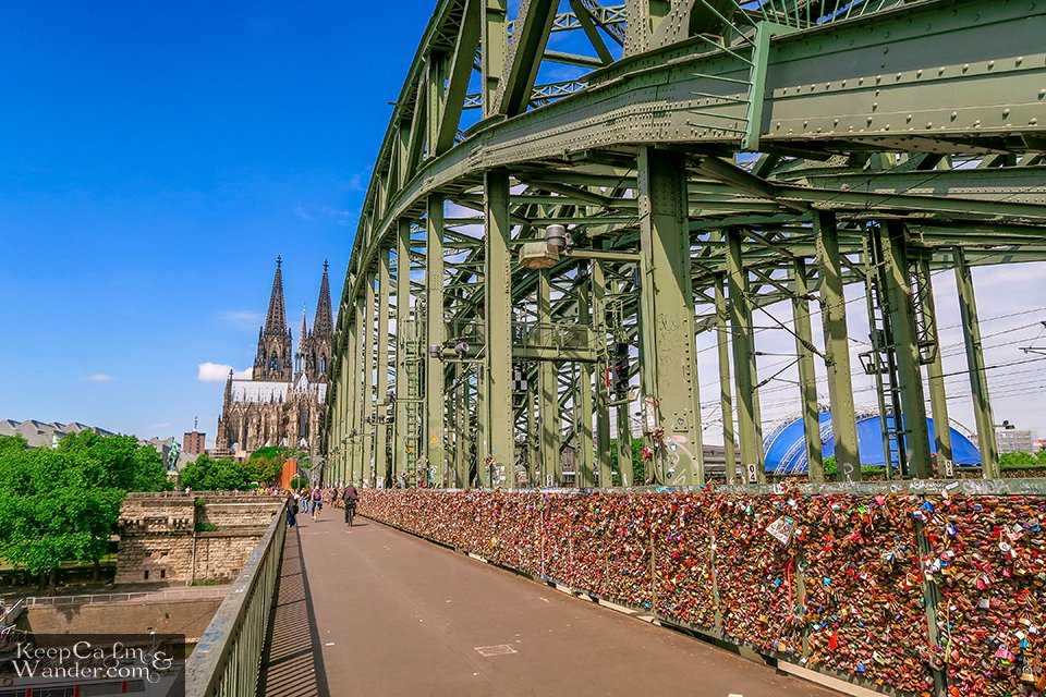 Love Locks Bridge in Cologne (Germany). Travel Blog