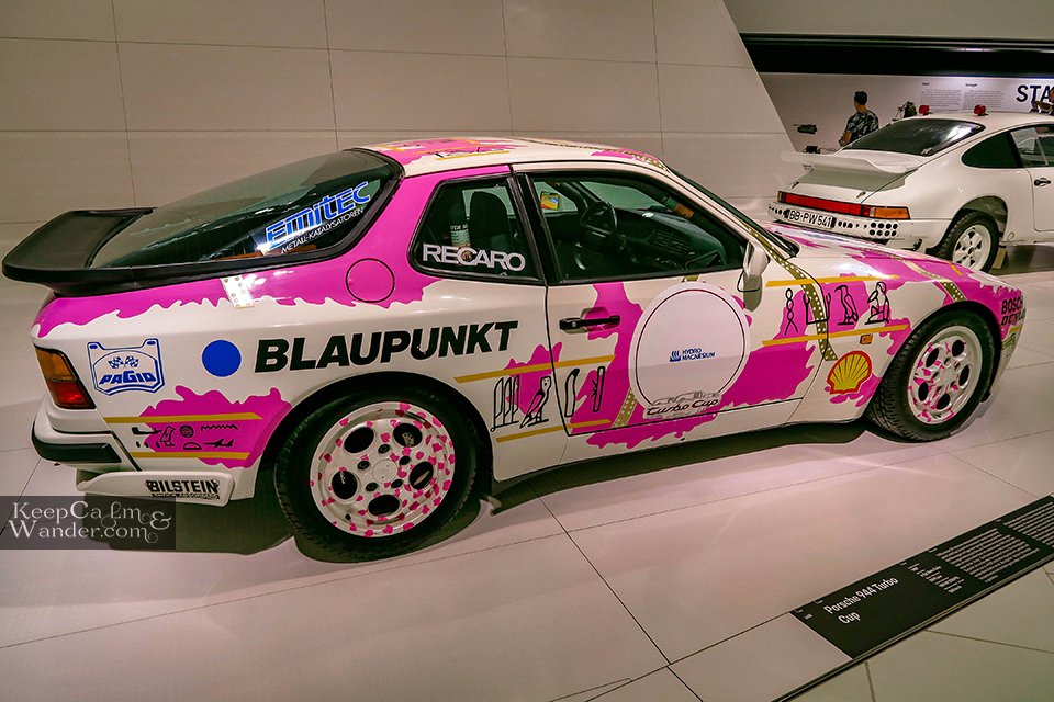 Inside the Porsche Museum in Stuttgart (Germany). Travel Blog