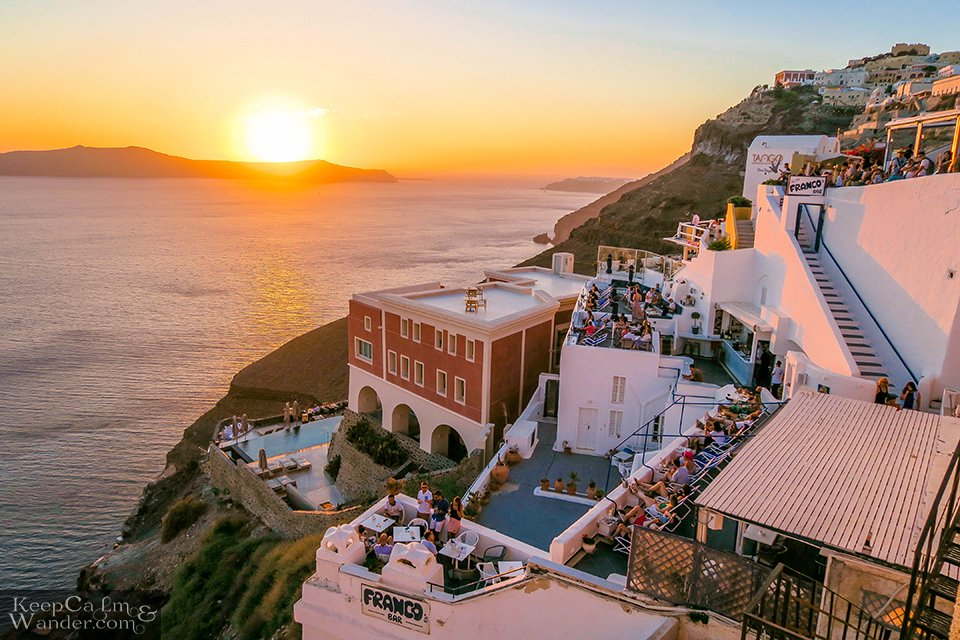 Fira sunsets Greece Hostel hostel in Santorini