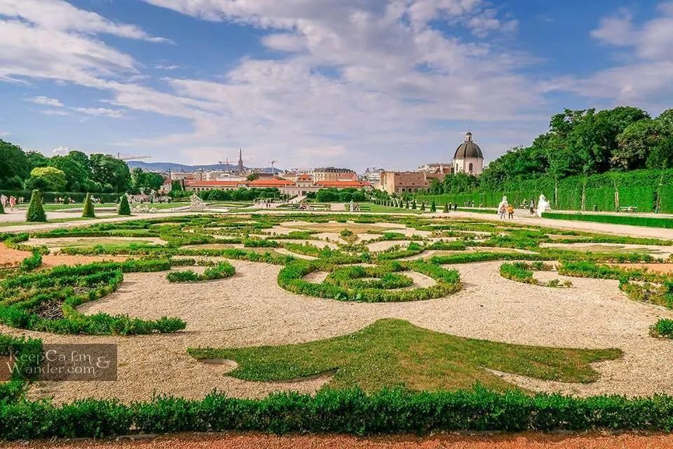 gardens palace Austria