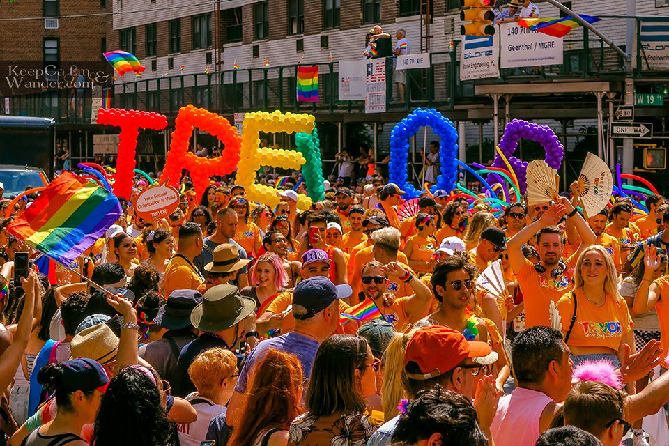 Trevor Project WorldPride NYC 2019